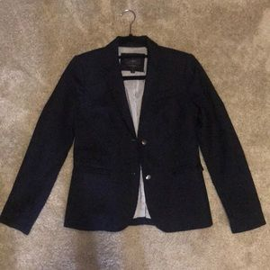 J Crew navy Schoolboy Blazer with gold buttons
